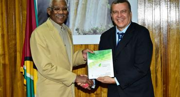 Guyana's Green State Development Strategy has been completed